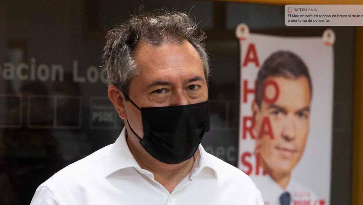 Juan Espadas, alcalde de Sevilla y candidato del PSOE-A a la Junta.