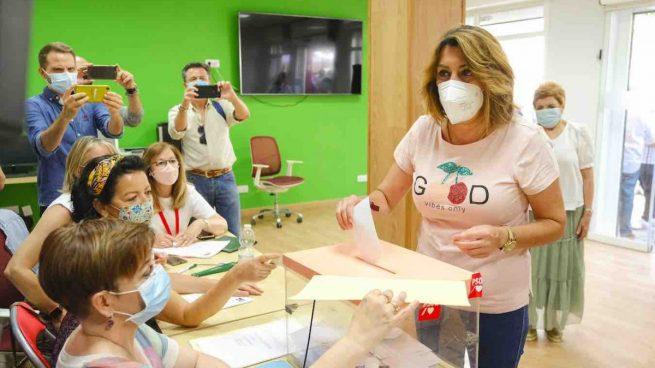 Susana Díaz no dimite y seguirá como secretaria general del PSOE-A hasta el próximo congreso regional