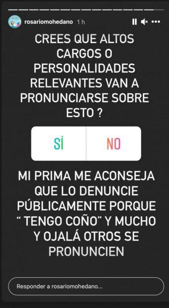 Chayo Mohedano en Instagram