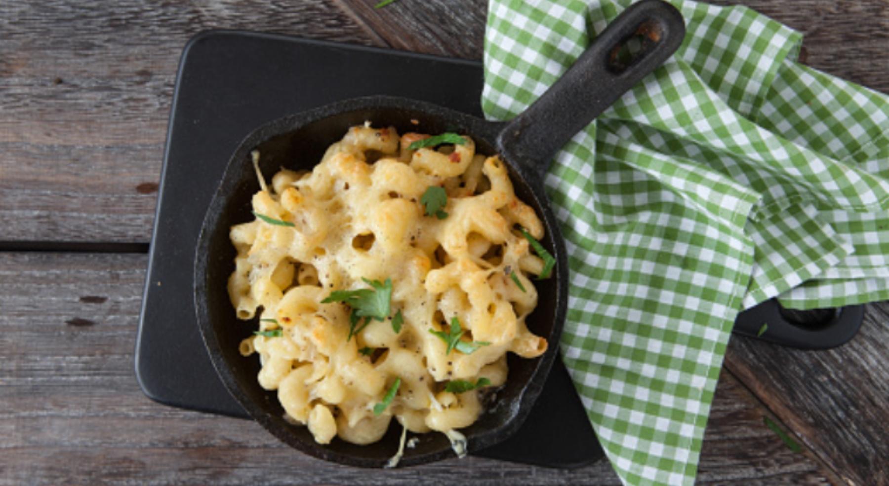 Mac and cheese, la auténtica receta americana para amantes del queso