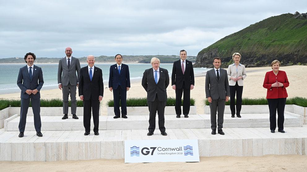Reunión del G7 en Inglaterra