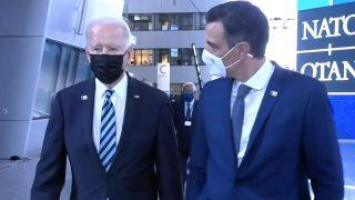 Pedro Sánchez Joe Biden