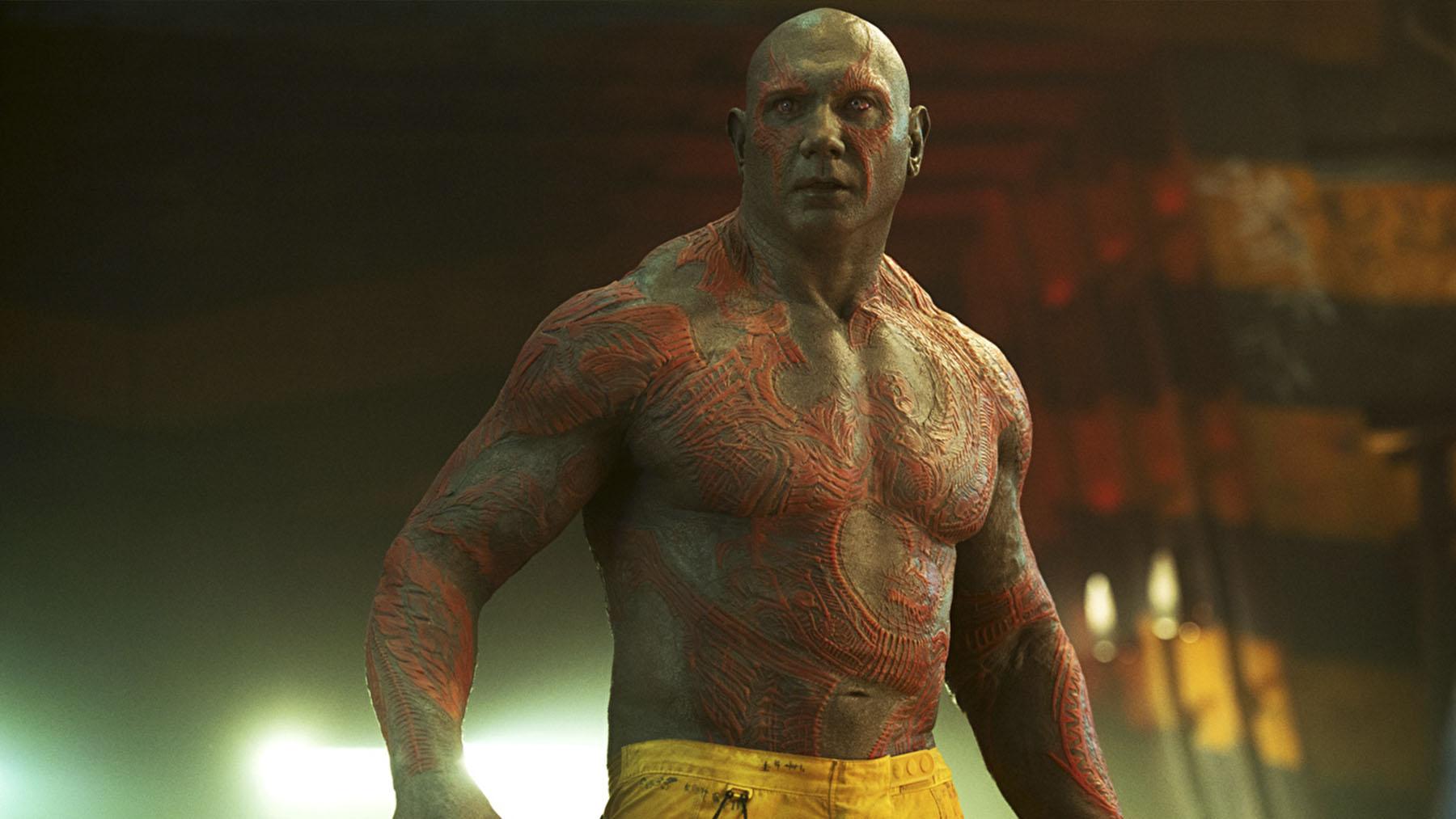 El personaje de Drax en «Guardianes de la galaxia» (Disney)