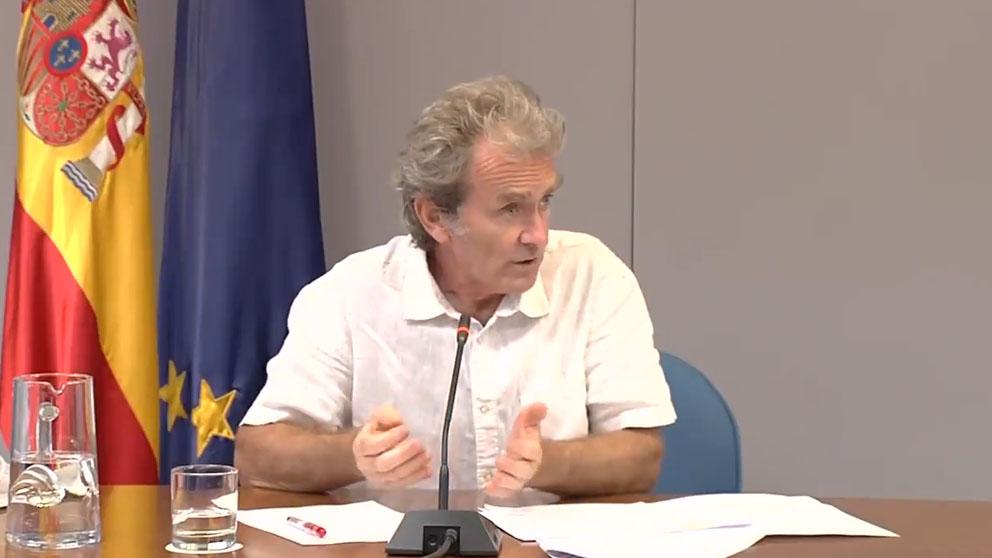 El director delCentro de Coordinación de Alertas y Emergencias Sanitarias, Fernando Simón.