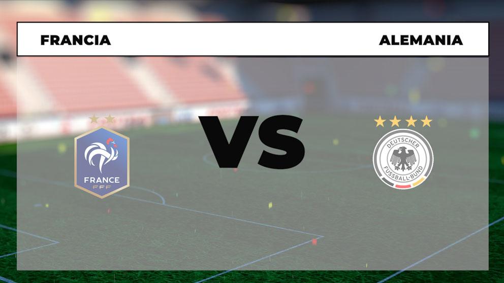 ¿Dónde ver el Francia-Alemania hoy de la Eurocopa en directo por TV y online?