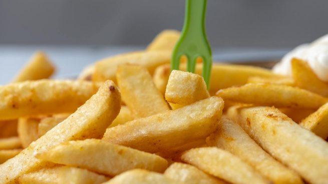 Bill Gates y patatas fritas McDonald's