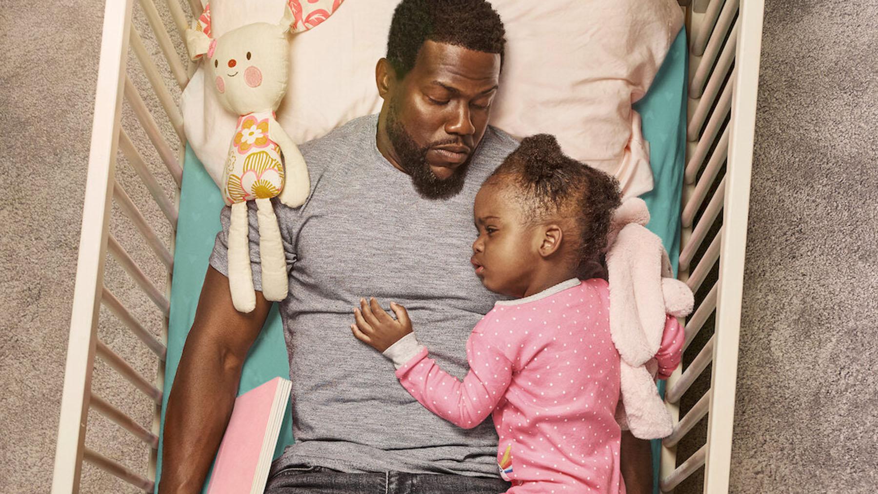 Kevin Hart en la serie «Ser padre» (Netflix)