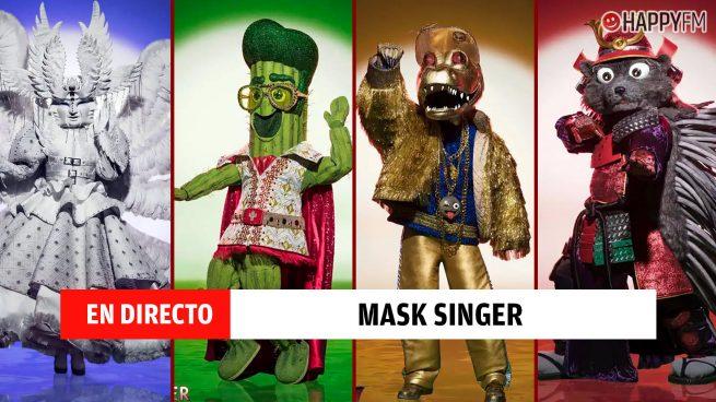 Gala de Mask Singer en directo