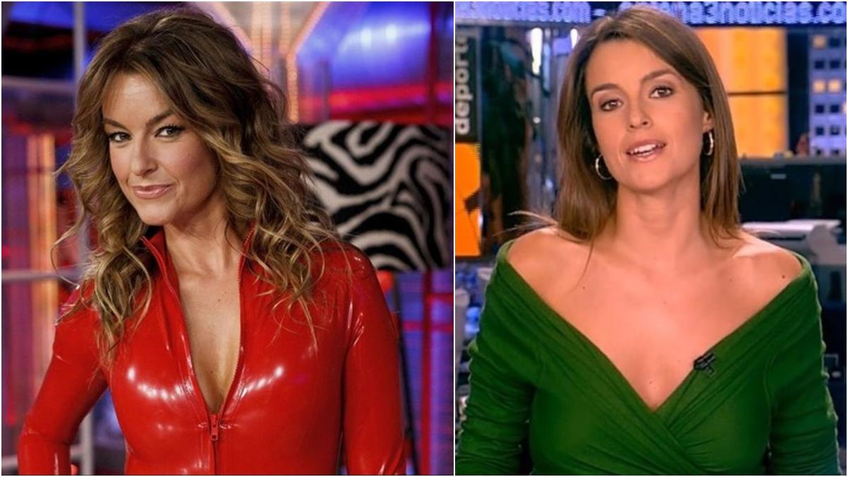 Mónica Martínez, ahora y antes.