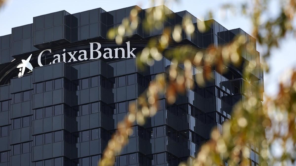 Edificio corporativo de CaixaBank en Barcelona