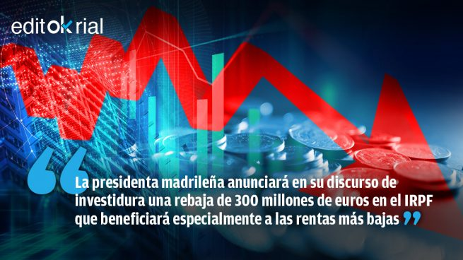 Ayuso levanta la losa fiscal de Pedro Sánchez