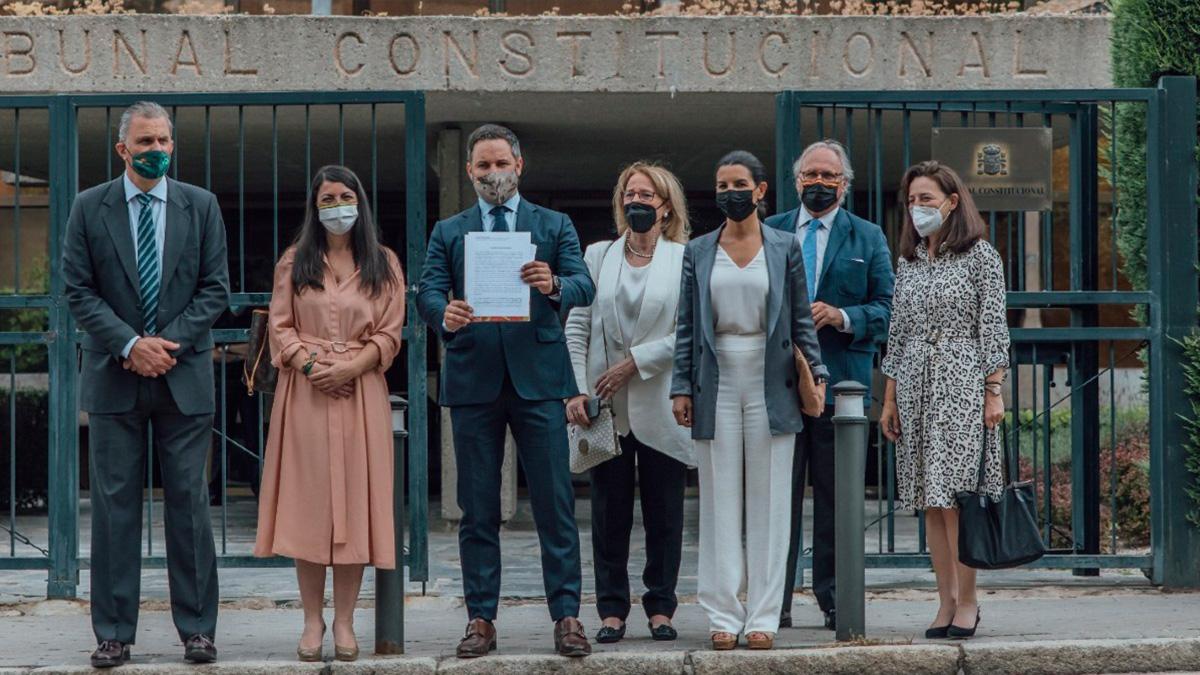 VOX en el Tribunal Constitucional