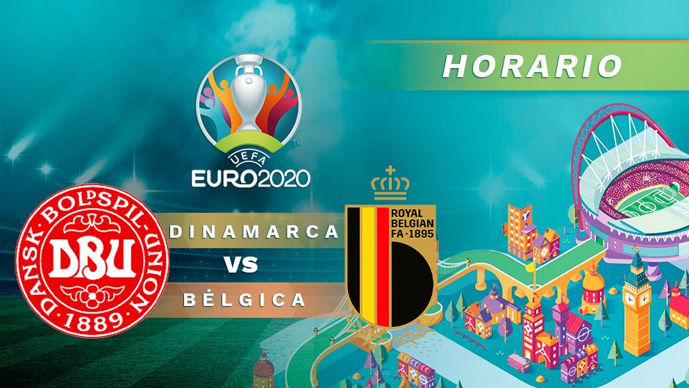 Eurocopa 2020: Dinamarca – Bélgica | Horario del partido de fútbol de la Eurocopa.