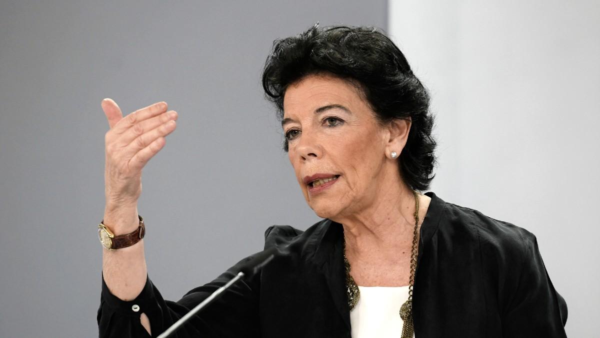 La ministra de Educación, Isabel Celaá. (Foto: Europa Press)