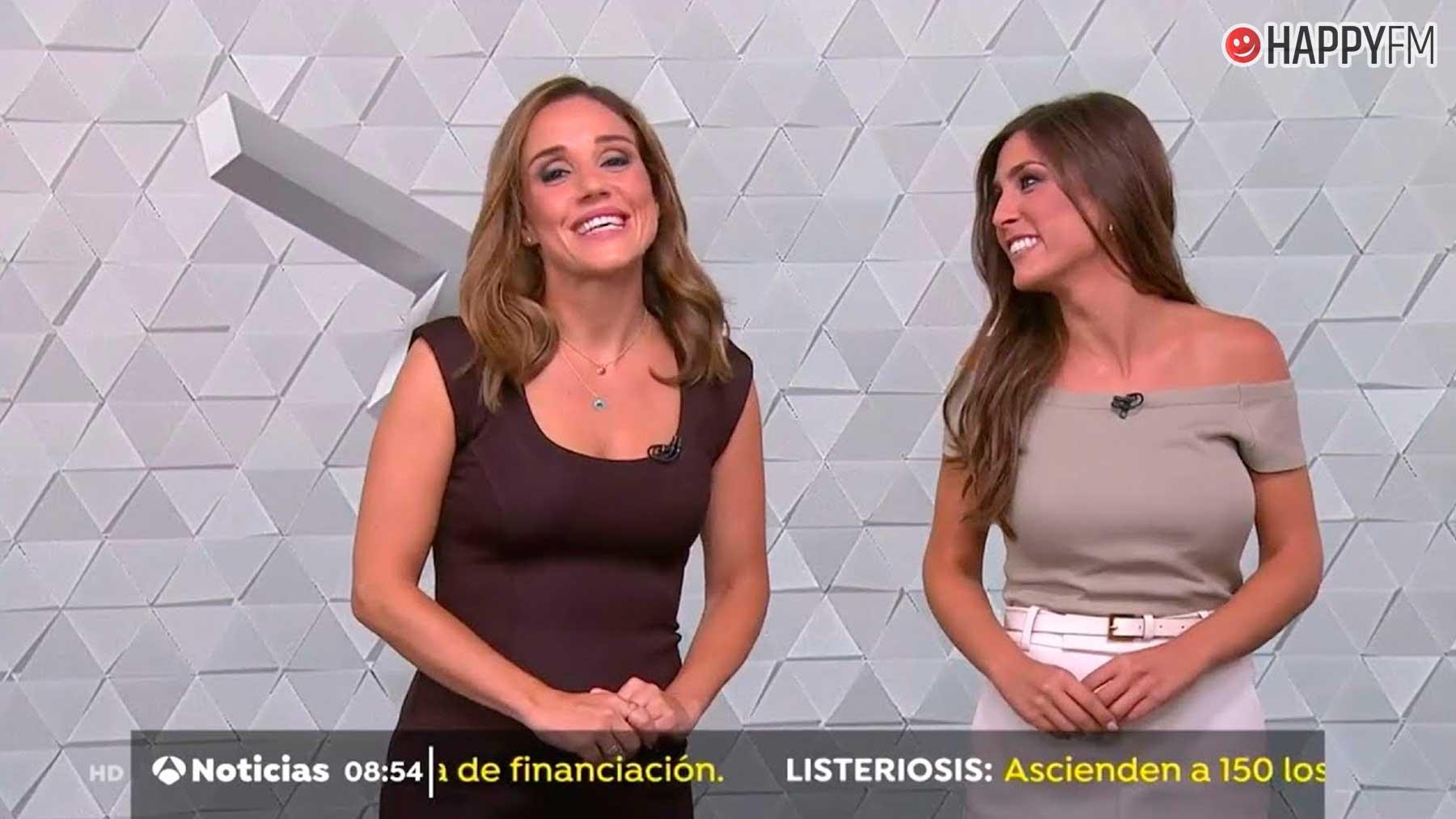Marina Monzón, la presentadora de Antena 3 que niega ser la hija de El Gran Wyoming