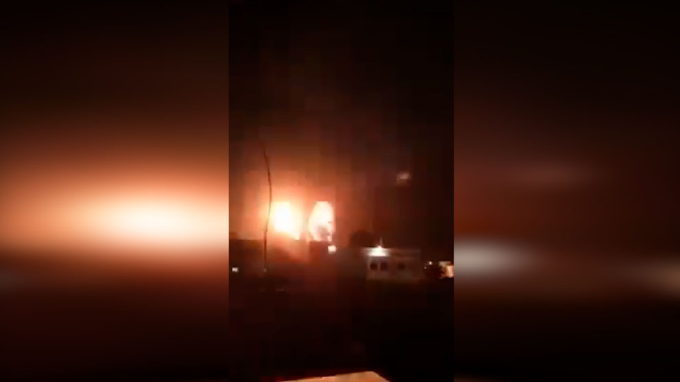 Ataques de Israel sobre la Franja de Gaza.