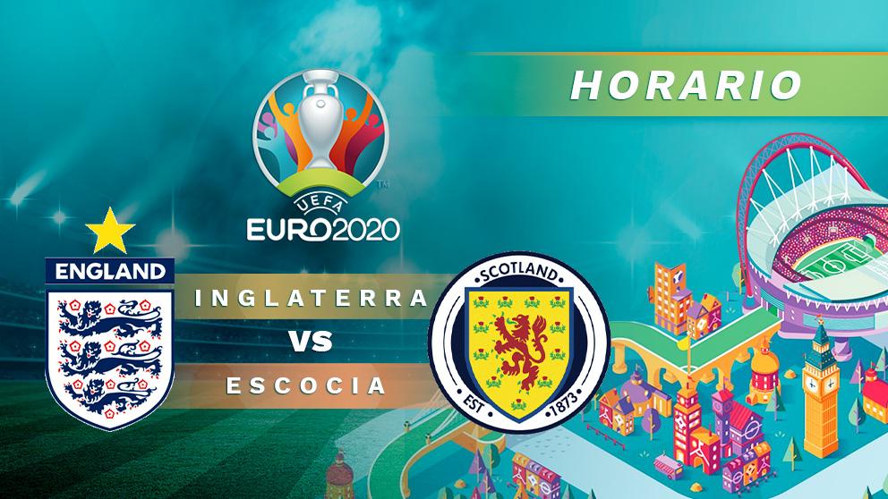 Inglaterra – Escocia: horario y dónde ver online en directo por TV el partido de la Eurocopa.
