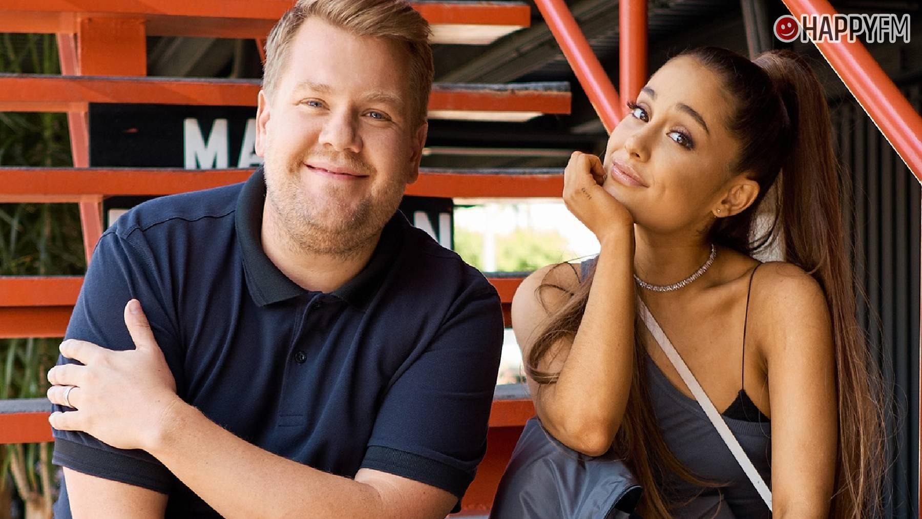 James Cordon y Ariana Grande