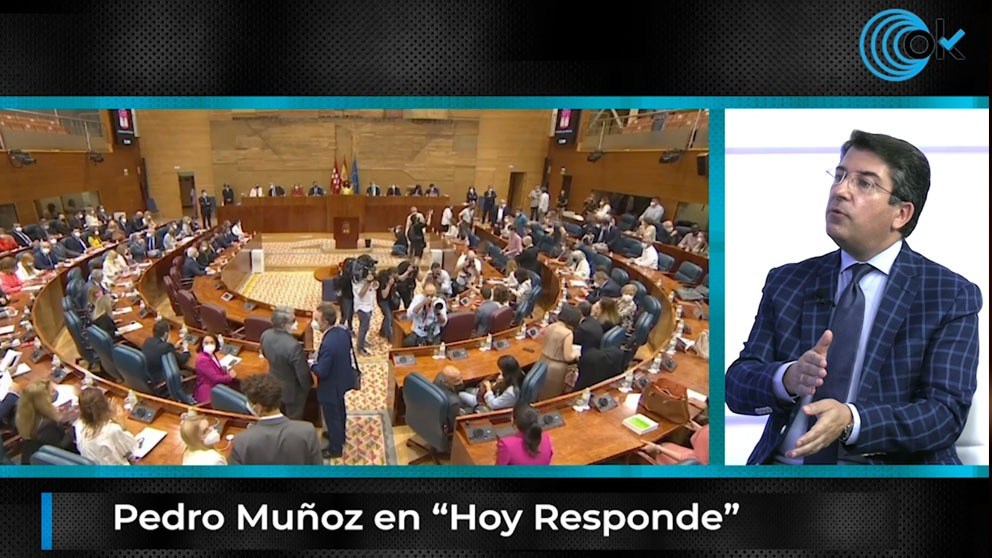 Pedro Muñoz en 'Hoy Responde'.