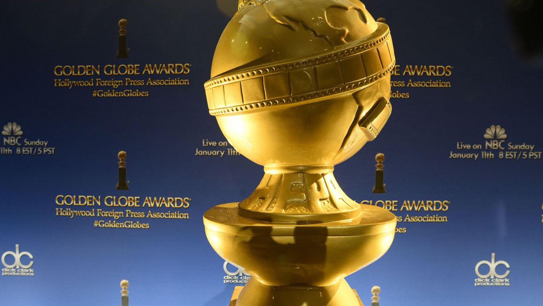 Los Globos de Oro (Imagen AFP Robin Beck)