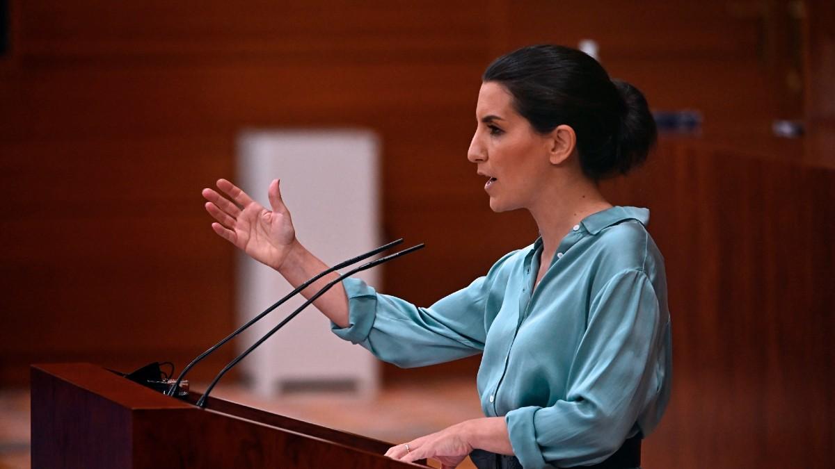 La líder de Vox, Rocío Monasterio.
