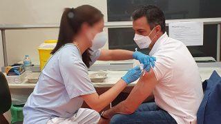 Pedro Sánchez vacuna