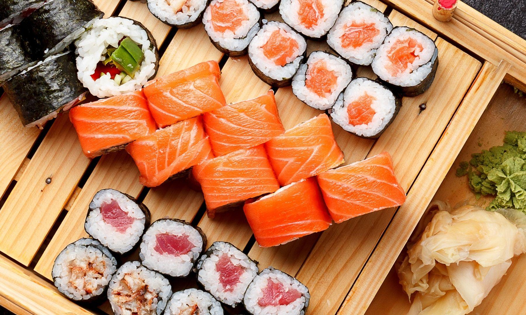 Clasificación de variedades de sushi