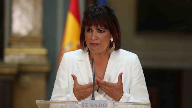 La líder de Anticapitalistas en Andalucía y diputada autonómica, Teresa Rodríguez.