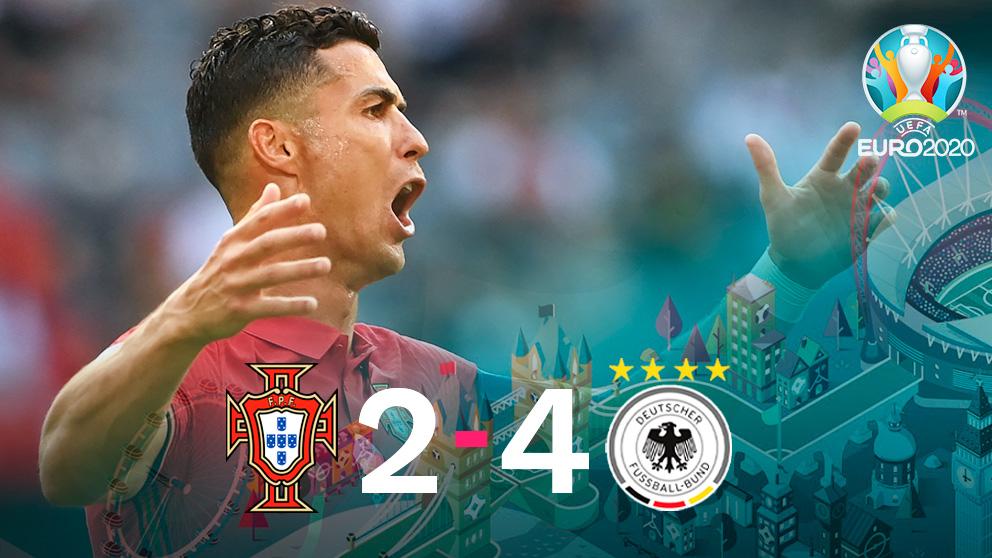 Alemania venció a Portugal en Múnich.