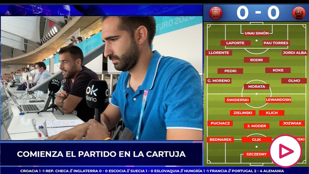 Streaming España – Polonia, en directo: partido de Eurocopa