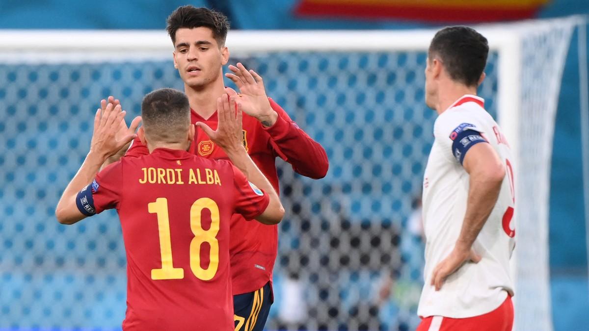 Eurocopa 2020: España – Polonia, en directo. (AFP)