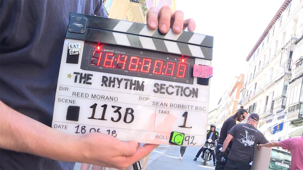 Rodaje en Madrid de 'The Rhythm Section', con Jude Law y Blake Lively.