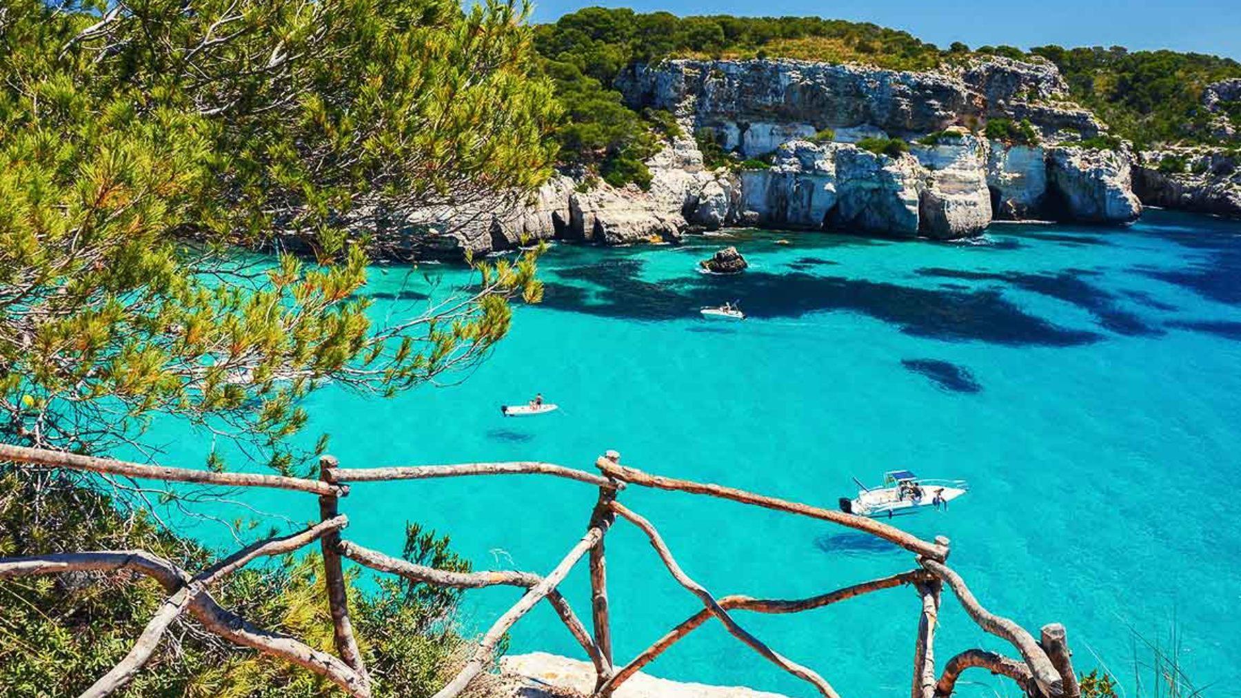 Playa en las Islas Baleares.