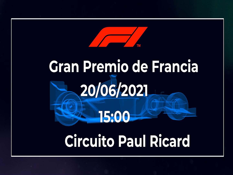 Fórmula 1 Francia 2020: horario y dónde ver en directo el Gran Premio de F1 por TV.