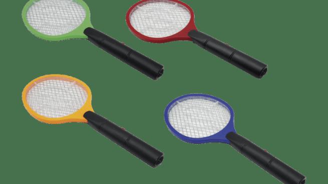 La raqueta eléctrica antiinsectos de Aldi, de 3,99 euros, que todos quieren este verano