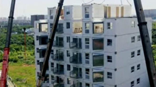 Edificio de 10 pisos en China
