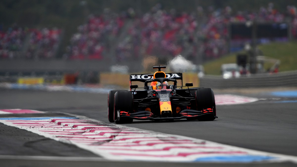 Max Verstappen, en el Gran Premio de Francia. (Getty)