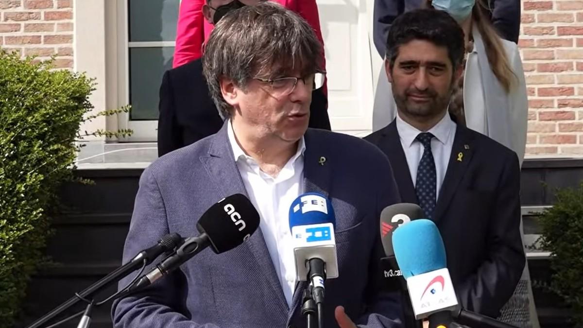 El ex presidente catalán Carles Puigdemont.