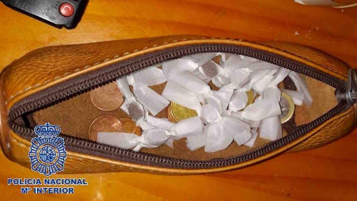 Caramelos de hachís intervenidos (POLICÍA NACIONAL).