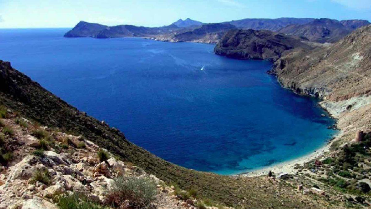 Cala Rajá, en el Parque Natural de Cabo de Gata-Níjar, en Almería (AYUNTAMIENTO DE NÍJAR).