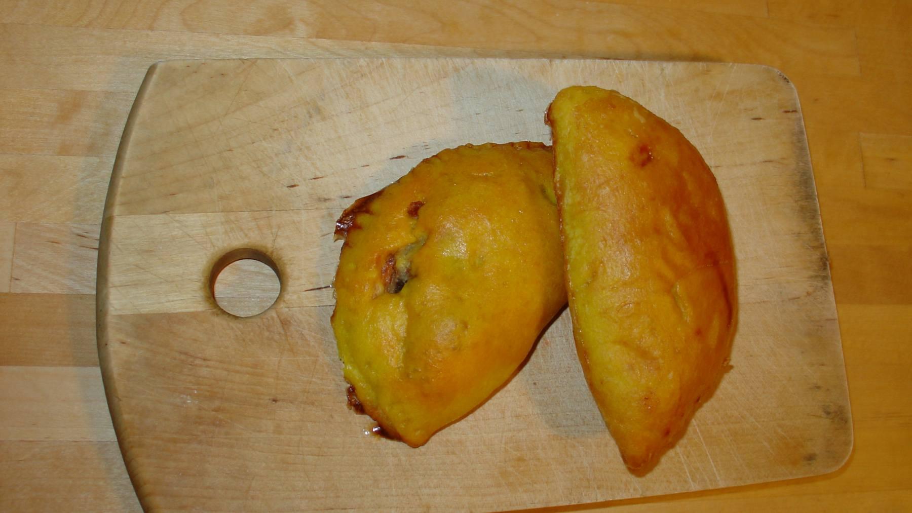 Empanadillas de morcilla