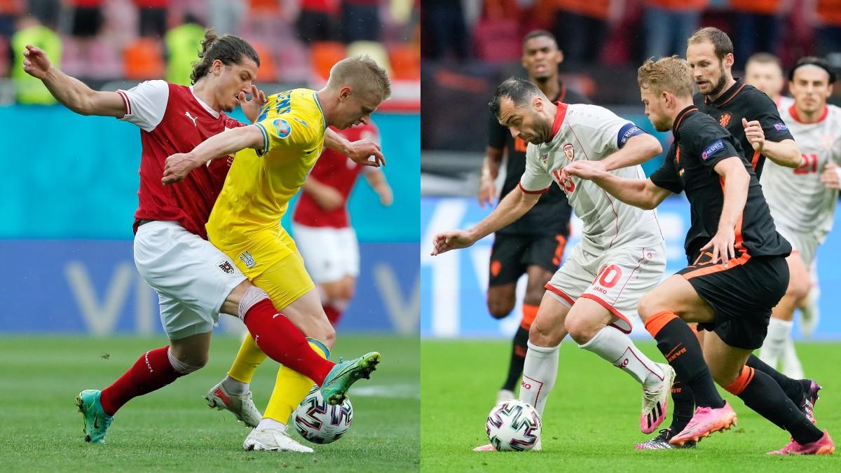 Ucrania – Austria y Macedonia del Norte – Holanda | Eurocopa 2020, en directo