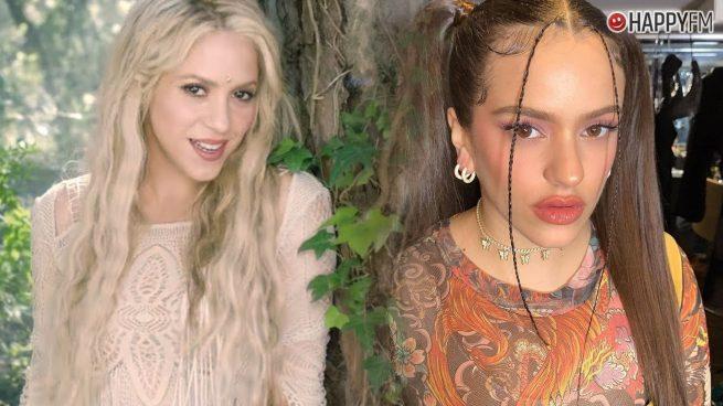Shakira y Rosalía