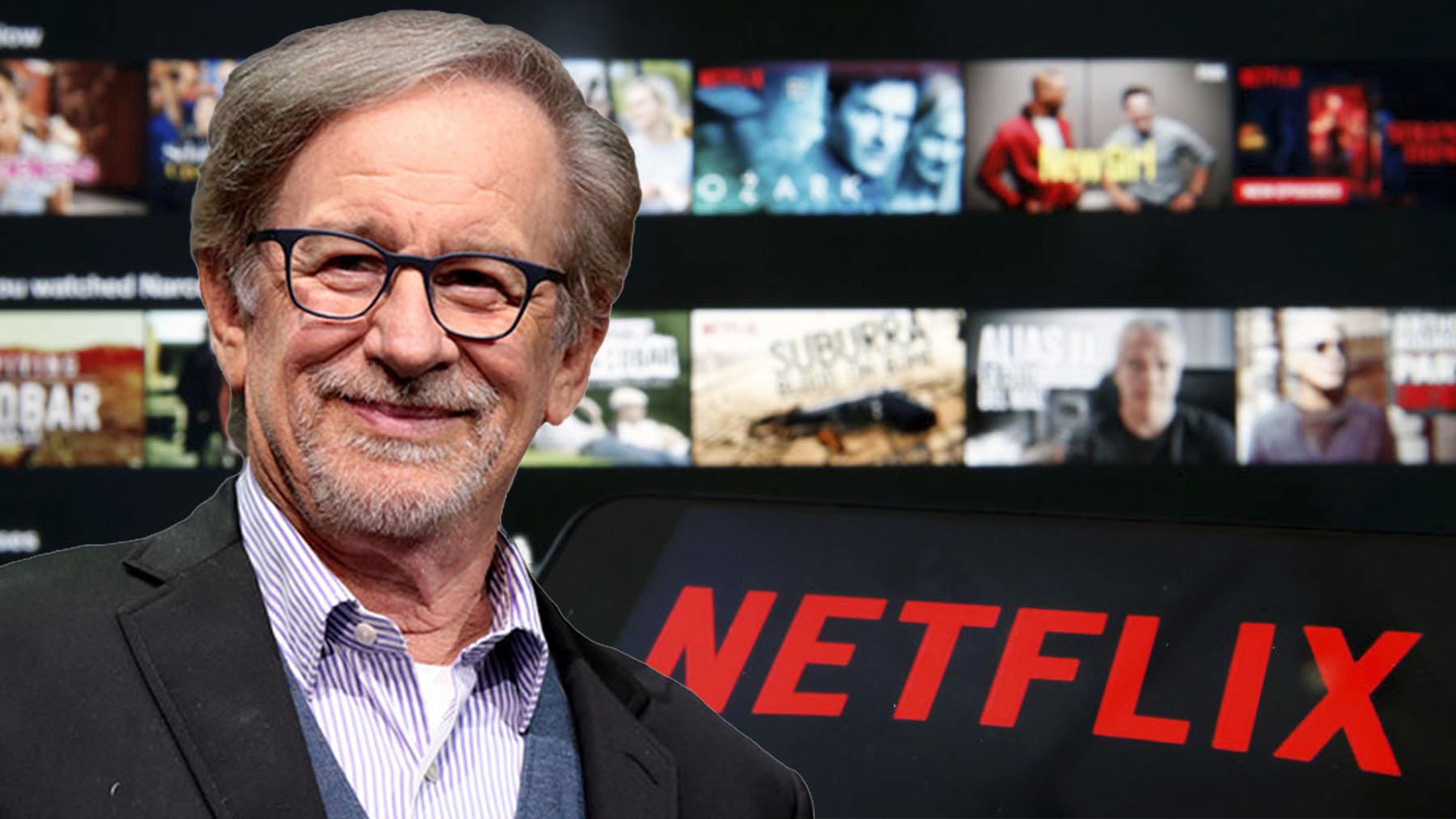 Spielberg y su productora Amblin Partners han firmado un acuerdo con Netflix, el gigante del streaming.