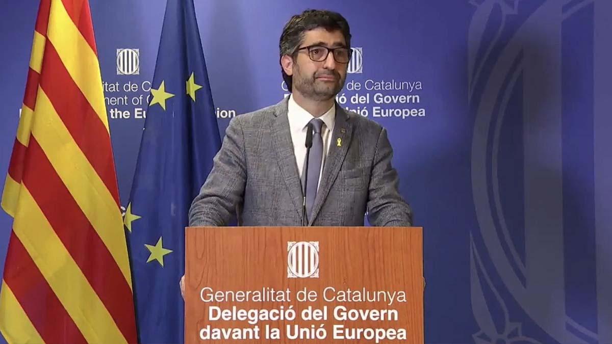 El vicepresidente de la Generalitat, Jordi Puigneró