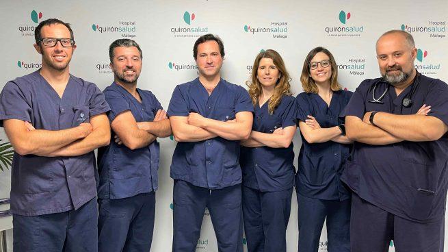 Quirónsalud Málaga realiza el primer caso en España de tromboembolismo pulmonar masivo con terapia por ultrasonidos