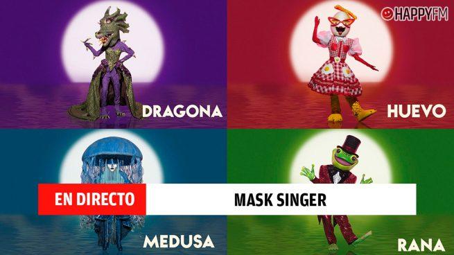 Mask Singer en directo: la gala de hoy en Antena 3