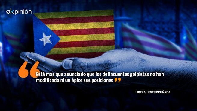 La izquierda siempre cómplice de los golpistas catalanes