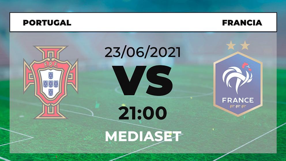 ¿Dónde ver el Portugal – Francia hoy de la Eurocopa en directo por TV y online?
