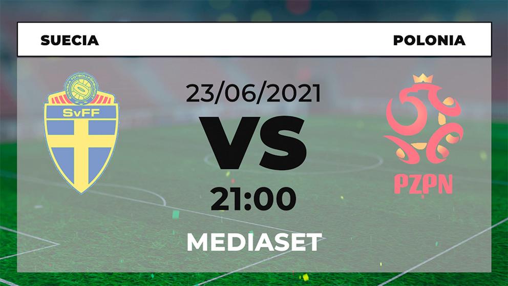 ¿Dónde ver el Suecia – Polonia hoy de la Eurocopa en directo por TV y online?